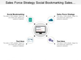 Sales Force Strategy Social Bookmarking Sales Collateral Management