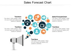 Sales Forecast Chart Ppt Powerpoint Presentation File Master Slide Cpb