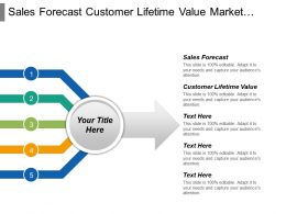 Sales Forecast Customer Lifetime Value Market Segmentation Strategy Cpb