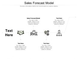 Sales Forecast Model Ppt Powerpoint Presentation Professional Images Cpb