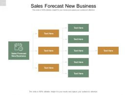 Sales Forecast New Business Ppt Powerpoint Presentation Show Files Cpb