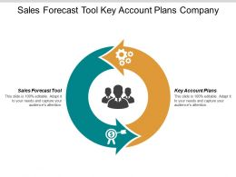 Sales Forecast Tool Key Account Plans Company Management Chart Cpb