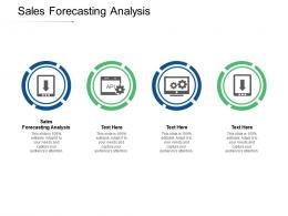 Sales Forecasting Analysis Ppt Powerpoint Presentation Professional Brochure Cpb