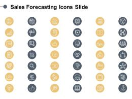 Sales Forecasting Icons Slide Server Ppt Powerpoint Presentation Professional Example Topics