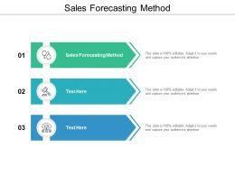 Sales Forecasting Method Ppt Powerpoint Presentation Gallery Guidelines Cpb