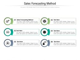 Sales Forecasting Method Ppt Powerpoint Presentation Summary Graphics Template Cpb