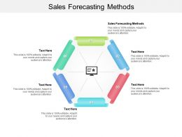 Sales Forecasting Methods Ppt Powerpoint Presentation Outline Graphics Cpb