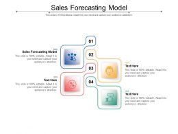Sales Forecasting Model Ppt Powerpoint Presentation Ideas Clipart Images Cpb