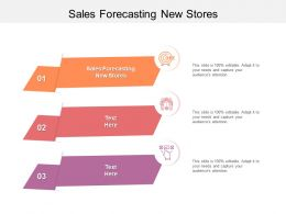 Sales Forecasting New Stores Ppt Powerpoint Presentation Inspiration Cpb