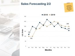Sales Forecasting Ppt Powerpoint Presentation Outline Information