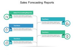 Sales Forecasting Reports Ppt Powerpoint Presentation Model Graphics Download Cpb