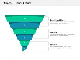 Sales Funnel Chart Ppt Powerpoint Presentation Layouts Structure Cpb