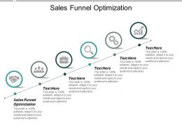 Sales Funnel Optimization Ppt Powerpoint Presentation Layouts Slides Cpb