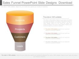 Sales Funnel Powerpoint Slide Designs Download