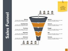 Sales Funnel Ppt Powerpoint Presentation Outline Show