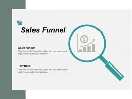 Sales Funnel Ppt Powerpoint Presentation Pictures Clipart Images Cpb