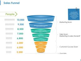 Sales Funnel Ppt Sample Presentations