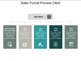 Sales Funnel Process Client Ppt Powerpoint Presentation Infographic Template Format Cpb