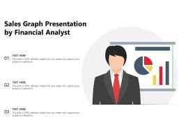 Sales Graph Presentation By Financial Analyst