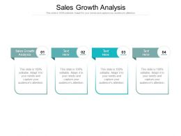 Sales Growth Analysis Ppt Powerpoint Presentation Summary Mockup Cpb