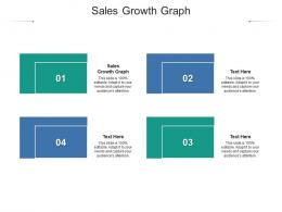 Sales Growth Graph Ppt Powerpoint Presentation Ideas Model Cpb