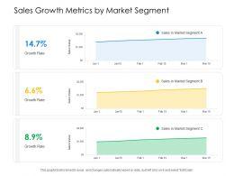 Sales Growth Metrics By Market Segment