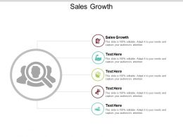 Sales Growth Ppt Powerpoint Presentation File Introduction Cpb