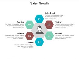 Sales Growth Ppt Powerpoint Presentation Show Backgrounds Cpb