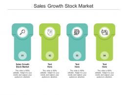 Sales Growth Stock Market Ppt Powerpoint Presentation Icon Portfolio Cpb