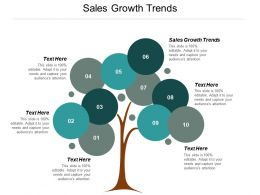 Sales Growth Trends Ppt Powerpoint Presentation Infographics Rules Cpb