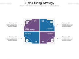 Sales Hiring Strategy Ppt Powerpoint Presentation Inspiration Vector Cpb
