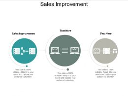 Sales Improvement Ppt Powerpoint Presentation Gallery Slide Cpb