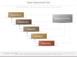 sales_improvement_tips_ppt_powerpoint_slide_deck_template_Slide01