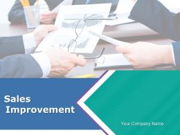 Sales Improvements Powerpoint Presentation Slides