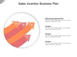Sales Incentive Business Plan Ppt Powerpoint Presentation Slides Portrait Cpb