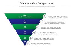 Sales Incentive Compensation Ppt Powerpoint Presentation Show Tips Cpb