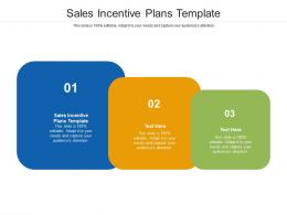 Sales Incentive Plans Template Ppt Powerpoint Presentation Pictures Files Cpb
