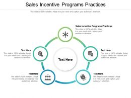 Sales Incentive Programs Practices Ppt Powerpoint Presentation Show Graphics Cpb