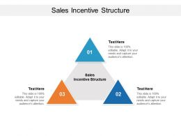 Sales Incentive Structure Ppt Powerpoint Presentation Inspiration Samples Cpb
