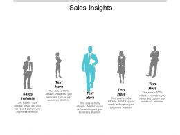 Sales Insights Ppt Powerpoint Presentation Inspiration Show Cpb