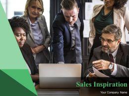 Sales Inspiration Powerpoint Presentation Slides