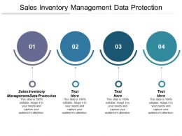 Sales Inventory Management Data Protection Ppt Powerpoint Presentation Gallery Shapes Cpb