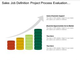 Sales Job Definition Project Process Evaluation Control Order Cash