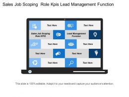 Sales Job Scoping Role Kpis Lead Management Function