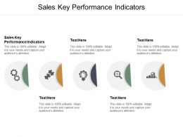 Sales Key Performance Indicators Ppt Powerpoint Presentation Portfolio Grid Cpb
