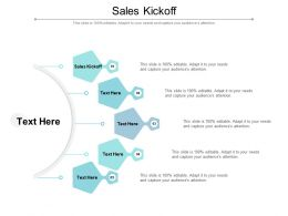 Sales Kickoff Ppt Powerpoint Presentation Styles Information Cpb