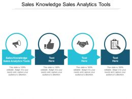 Sales Knowledge Sales Analytics Tools Ppt Powerpoint Presentation Outline Designs Download Cpb