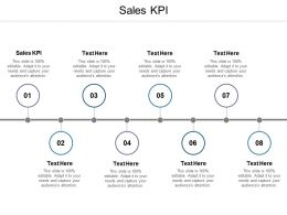 Sales KPI Ppt Powerpoint Presentation Outline Ideas Cpb