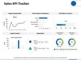Sales KPI Tracker Ppt Professional Graphics Download