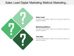 Sales Lead Digital Marketing Method Marketing Performance Metrics
